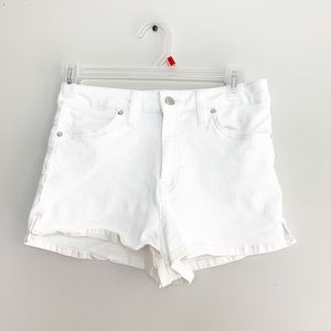 We the Free Hi Rise White Shorts Women Size 26